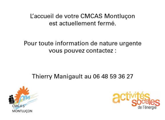 Fermeture de la CMCAS