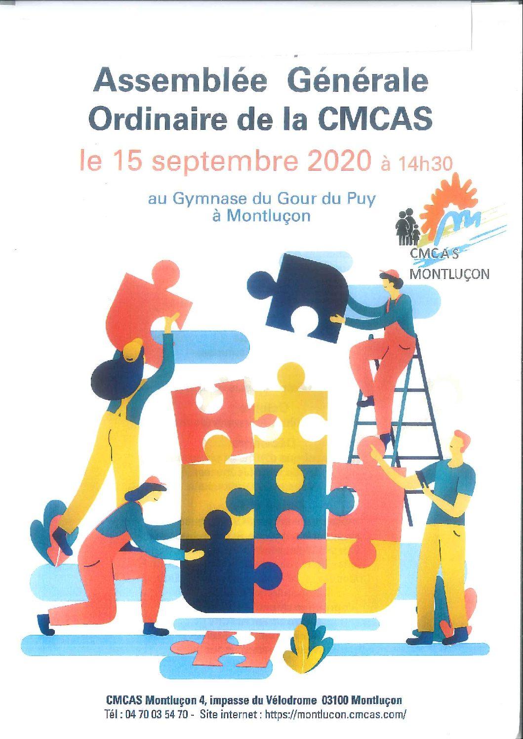 Assemblée Générale de la CMCAS